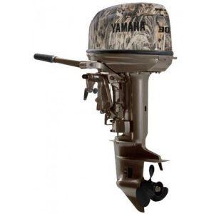 Двухтактный Лодочный мотор Yamaha 30HMHS Camo