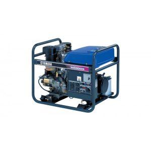 Четырёхтактный дизельный генератор Yamaha EDA5000E (+ комплект 4 колеса)