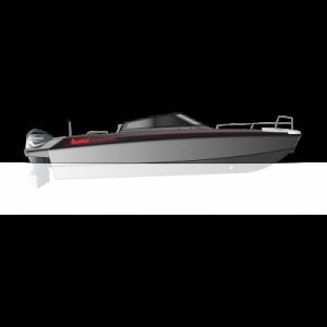 Катер алюминиевый Buster Phantom + F225FETX (х2)