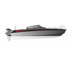 Катер алюминиевый Buster Phantom + F300BETX (х2)