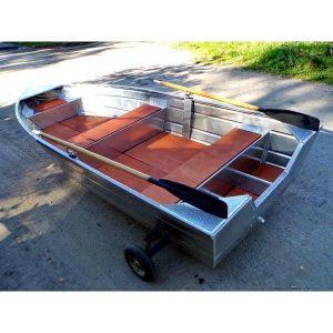 Лодка алюминиевая Аквамакс ВУОКСА-390
