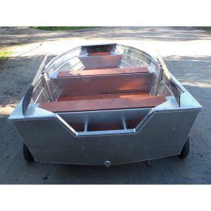 Лодка алюминиевая Аквамакс ВУОКСА-450