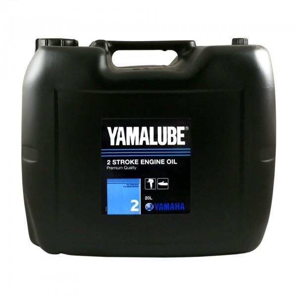 Минеральное масло Yamalube 2 для 2-тактных двигателей подвесных лодочных моторов (20 л.)