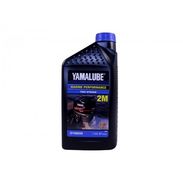 Полусинтетическое масло Yamalube 2M (1 л.)
