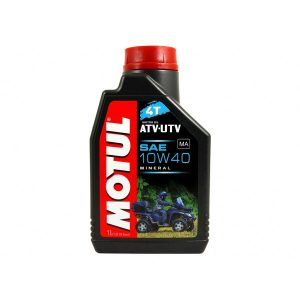 Минеральное моторное масло Motul ATV-UTV 4T 10W40