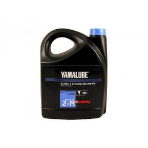 Минеральное масло Yamalube 2-M TC-W3 для 2-тактных двигателей подвесных лодочных моторов (5 л.)