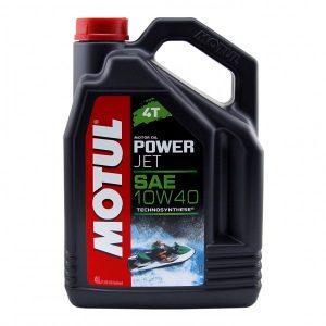 Моторное масло MOTUL PowerJet 4T 10W-40 для гидроциклов (4 л.)
