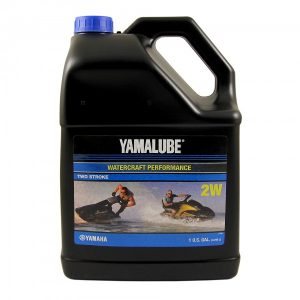 Полусинтетическое масло Yamalube 2W (3.78 л.)