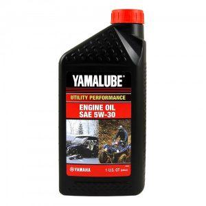 Минеральное моторное масло для утилитарных мотовездеходов Yamalube 5W-30