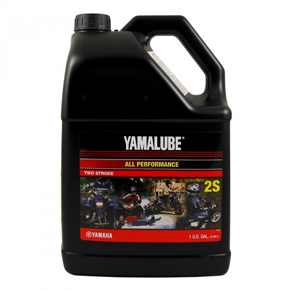 Полусинтетическое моторное масло Yamalube 2S (3.78 л.)