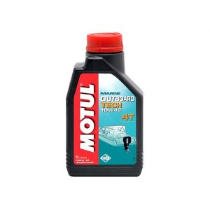 Полусинтетическое моторное масло Motul Outboard Tech 4T 10W-40