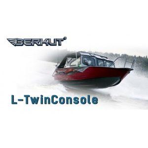 Катер алюминиевый Berkut L-Twin Console