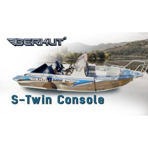 Катер алюминиевый Berkut S-TwinConsole