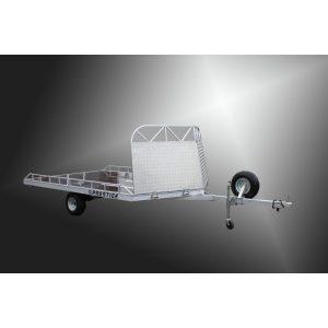 Прицеп для снегоходов и квадроциклов Prestige 950 AL VNose (L=3000) алюминиевый