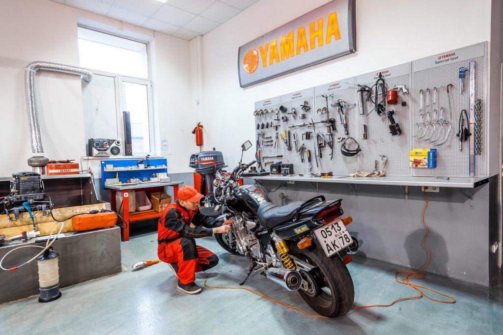 Ремонт мотоциклов и скутеров в Санкт-Петербурге